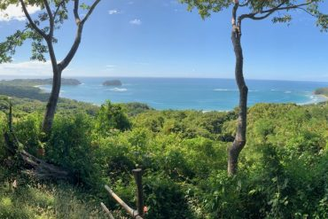 View of Pacific Ocean from Samara Trails in Playa Samara, Costa Rica
