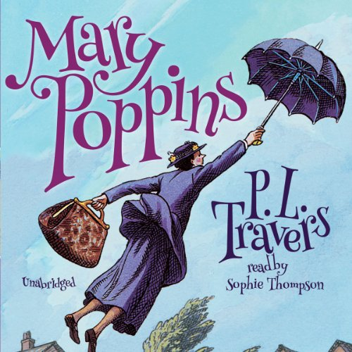 """Audiobook for cover art for """"Mary Poppins"""" by P.L. Travers"""