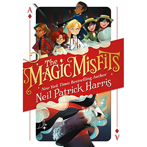 """Audiobook for cover art for """"The Magic Misfits"""" by Neil Patrick Harris"""