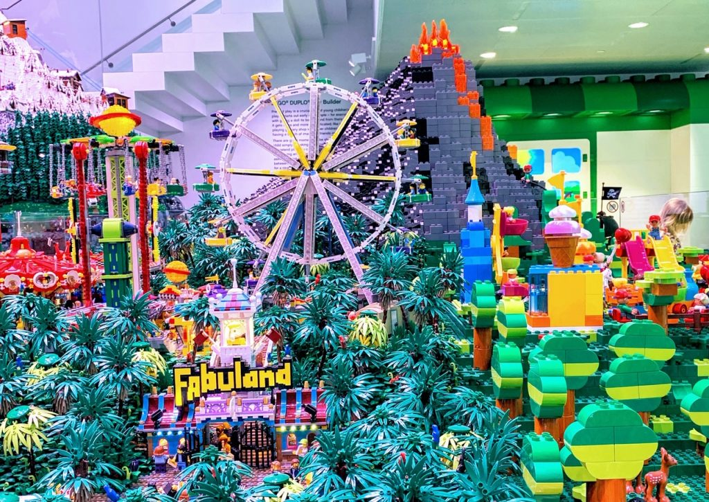 Fabuland in The World Explorer display at LEGO House in Denmark