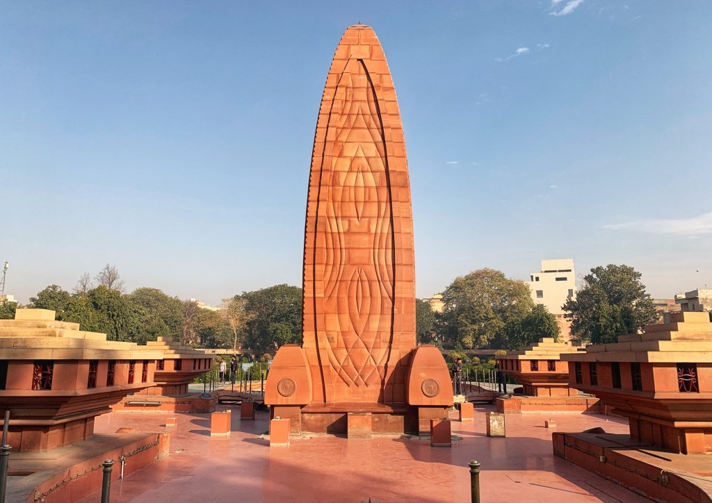 The Jallianwala Bagh memorial commemorating the Amritsar massacre. A top thing to do in Amritsar, India.